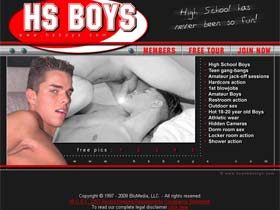 Welcome to HS Boys - young twinks & cute young guys at high school boys!