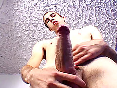 Sexy latino dude maturbating for the camera until he cums !